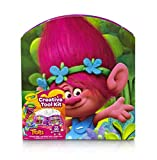 Crayola; Trolls Creativity Tool Kit; Art Tools; Washable Markers, Crayons; Colored Pencils; Coloring Sheets; Great Gift