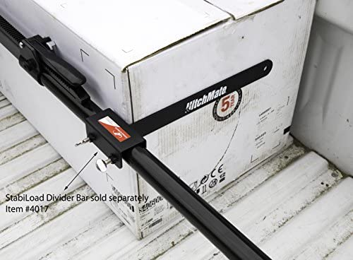 """HITCHMATE CARGO STABILIZER BAR 59/""""-73/"""" TRUCK BEDS 4016 with Divider Bar 4017"""