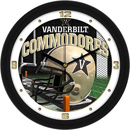 SunTime NCAA Vanderbilt Commodores Helmet Wall Clock