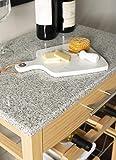 """Linon Kitchen Island Granite Top, 33.88"""" x"""