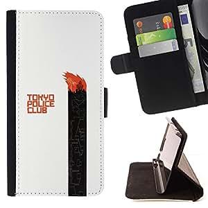 Momo Phone Case / Flip Funda de Cuero Case Cover - Tokyo Police Club;;;;;;;; - LG Nexus 5 D820 D821