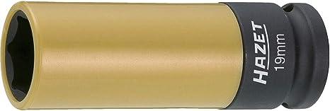 Hazet 903SLG-21 Size 21 Hex 1//2 Square with Sleeve Impact Socket