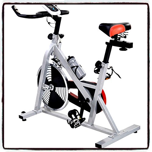Indoor Exercise Bicycle Bike Cycling Health Fitness Stationary Static Cardio Workout Burn Fat - House Deals