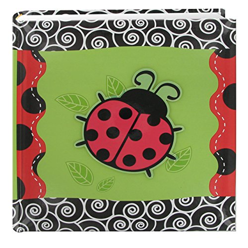 200-Pocket 3-D Lady Bug Applique Cover Photo Album, 4 by 6-Inch ()