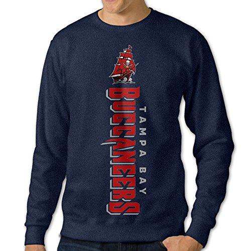 - Juice Forus Men's Tampa Bay Football Pullover Long Sleeve Tshirts Crew Neck Sweatshirt Navy 3X