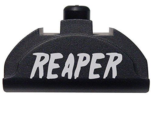 NDZ Performance for Glock Gen 4-5 Grip Frame Slug Plug AL9 with Backstrap Installed Black Reaper Text