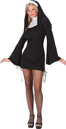 Amazon.com: Naughty Nun – Disfraz Pequeño/Mediano de ...