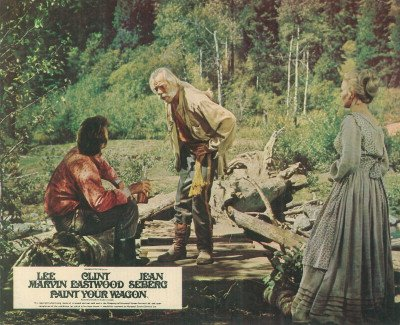 PAINT YOUR WAGON LEE MARVIN JEAN SEBERG LOBBY CARD from Silverscreen