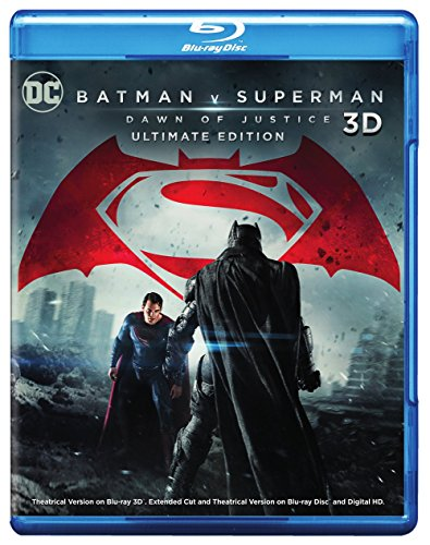 Blu-ray 3D : Batman V Superman: Dawn Of Justice (With Blu-Ray, Ultraviolet Digital Copy, 2 Disc)