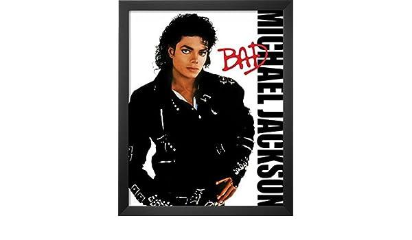 "MICHAEL JACKSON  11x17  /""Black Light/"" Poster"