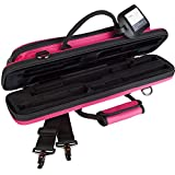 Protec Flute (B and C Foot) Slimline PRO PAC Case, Hot Pink