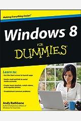 Windows 8 For Dummies Kindle Edition