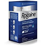Mens Rogaine 5% Minoxidil Foam for Hair Loss and Hair Regrowth, Topical Treatment for Thinning Hair, 3-Month Supply