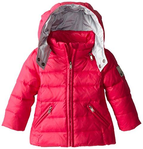 Diesel Baby Girls' Jimib Down Hooded Jacket, Fuchsia, 12 (Diesel Baby Girl)