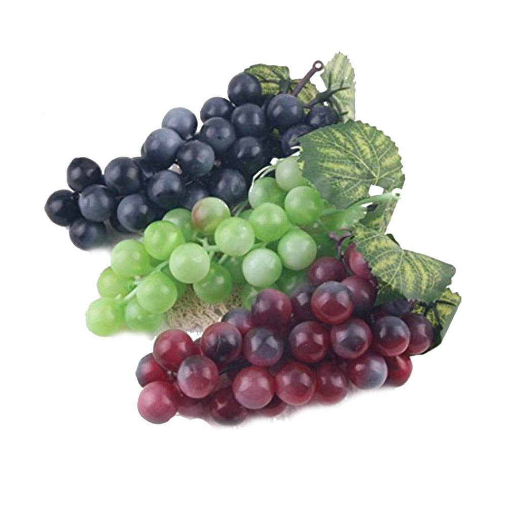 mxdmai Fruits 3pcs dé coratifs artificiels en Plastique Accueil Party Decor