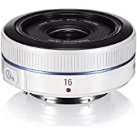 Samsung NX 16mm f/2.4 Camera Lens (White)