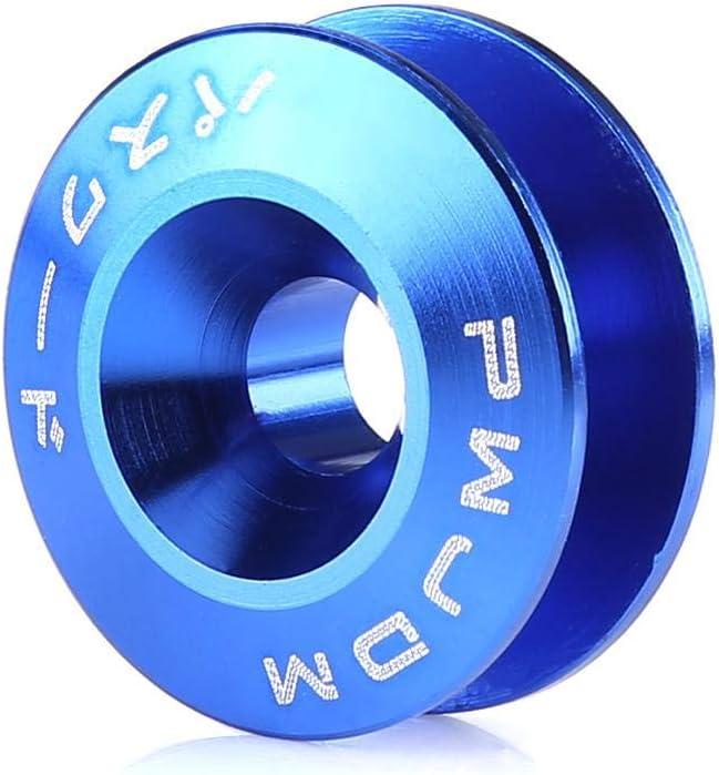 Gr/ün Auto Aluminiumlegierung Bumper Washer//Bolt Motor Bay Dress Up Kit Schnellverschluss Suuonee Bumper Washer