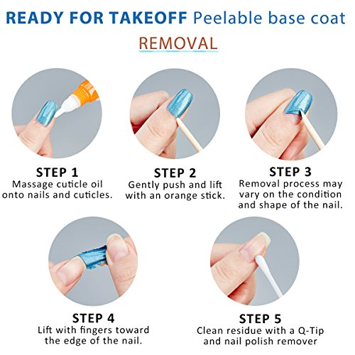 UNT Ready For Takeoff Peelable Base Coat, No Latex Cuticle Barrier