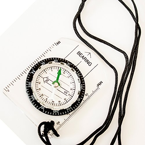 Under Control Tactical Best Sighting Compass for Camping & Outdoors - Perfect for Scouts, Kids, Just Making Learning Maps Fun! by Under Control Tactical