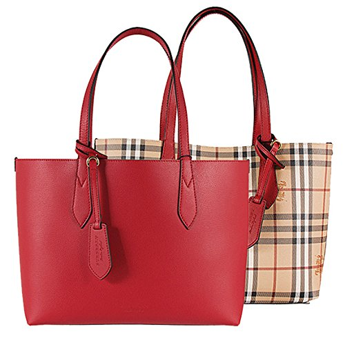 Burberry reverse double face leather tote  Amazon.co.uk  Shoes   Bags c3043d683f615