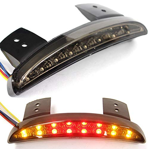 Eagle Lights Smoked LED Taillight Conversion Upgrade Kit for Harley Sportsters with Integrated Turn - Conversion 1200