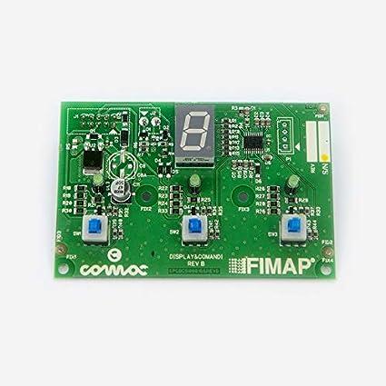 Tarjeta electrónica para lavadora Comac Fimap: Amazon.es ...