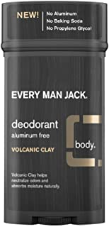 product image for Every Man Jack Deodorant 2.7 Ounce Volcanic Clay (3 Pack)