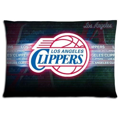Bedroom Decor Custom Los Angeles Clippers Pillowcase Two Sid