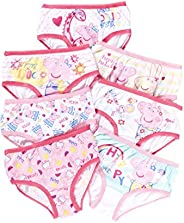 Girls Underwear | Pack of 7 Briefs For Toddlers &