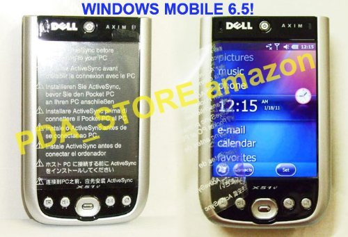 Dell Axim X51v Handheld PDA - Windows Mobile 6.5 - Wifi, Bluetooth