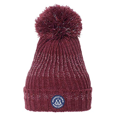 Mountain Horse Illusion Hat - AW18 Burgundy Red One-Size
