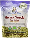 Organic Raw Hemp Seeds, 16oz