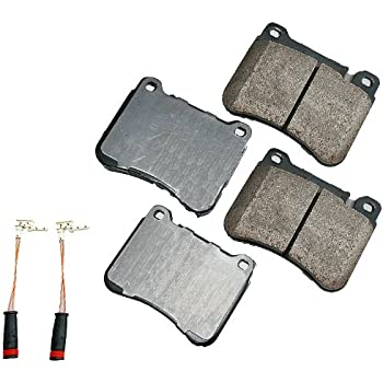 Akebono EUR1121 EURO Ultra-Premium Ceramic Brake Pad Set