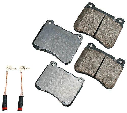 Kompressor Pad - Akebono EUR1121 EURO Ultra-Premium Ceramic Brake Pad Set