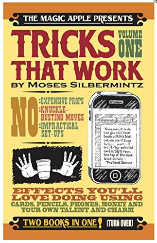 Apple Magic Tricks That Work and Jokes That Work - Two Books in ONE - by Moses Silbermintz