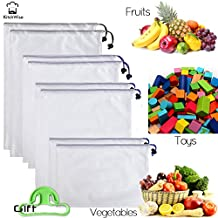 Reusable Grocery & Produce Bags Set of 8