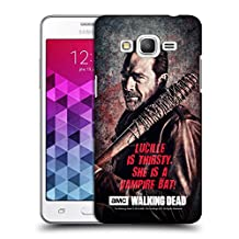 Official AMC The Walking Dead Lucille Vampire Bat Negan Hard Back Case for Samsung Galaxy Grand Prime