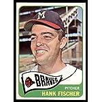 1965 Topps #585 Hank Fischer Milwaukee Braves Baseball Card Verzamelingen Verzamelkaarten: sport
