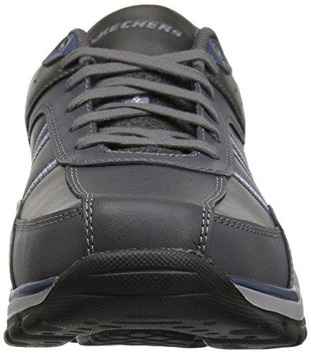 para Gris Rovato Skechers Hombre Texon Grey Zapatillas qwPfR0p