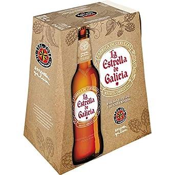 Estrella Galicia La Estrella de Galicia Cerveza - Pack de 6 ...