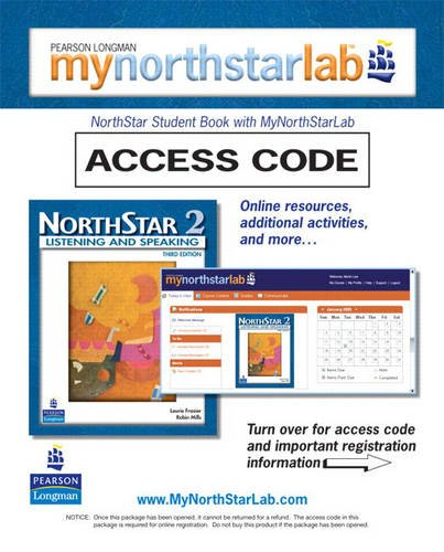 MyNorthStarLab, NorthStar Listening and Speaking 2 (Student Access Code only) (3rd Edition)
