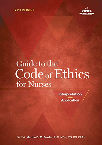 a critical analysis of the nurses code of ethics Especially a critical or end-of  analysis of a code of ethics code a critical analysis of the nurses code of ethics of ethics/conduct.