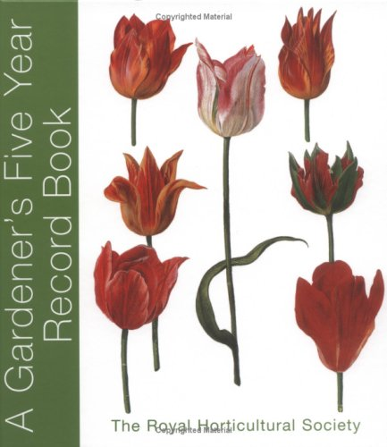 RHS Five Year Gardener's Record Book pdf