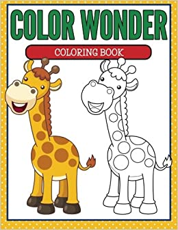 Color Wonder Coloring Book Speedy Publishing Llc 9781681855066