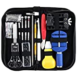 Dabixx Watch Repair Tools, 147Pieces Kit Case Opener Link Spring Bar Remover Watchmaker Tool