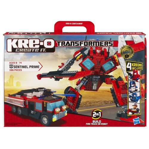 Used, KRE-O Transformers Sentinel Prime Construction Set for sale  Delivered anywhere in USA