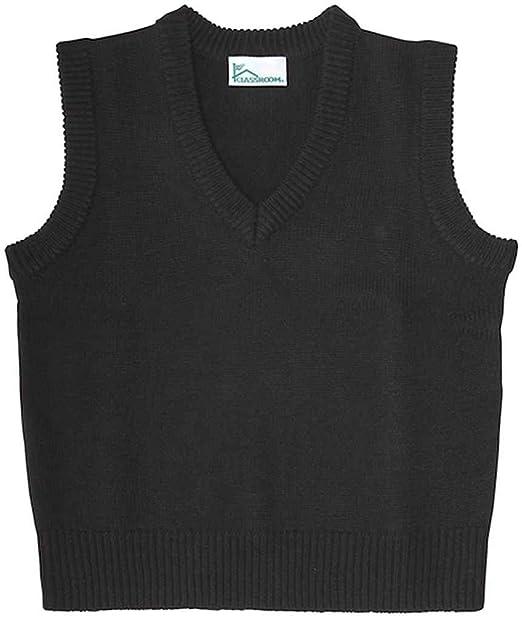 7246ead04 Classroom School Uniforms Men's Adult Unisex V-Neck Sweater Vest