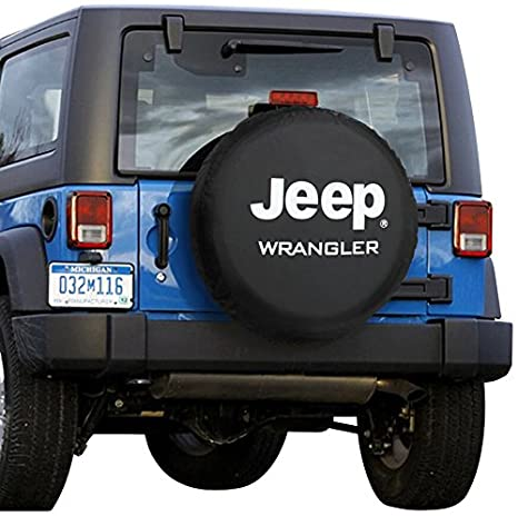 RV Spare Tire Cover Broken Bulb Print WaterProof Dust-proof Universal Wheel Cover,Fit For For Jeep,Trailer SUV 16 Inch