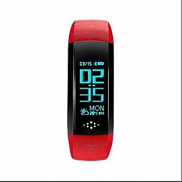 Montre connectée sport, Bracelet connecté, Podomètre Traqueur de Sommeil,Calculateur de Distance,
