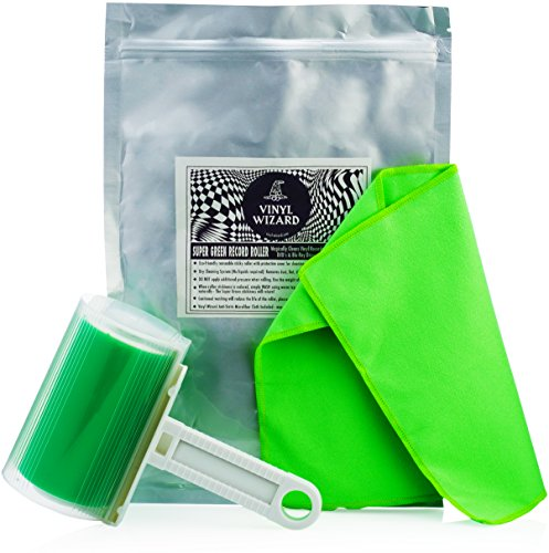 super-green-vinyl-cleaner-record-roller-set-removes-dust-from-your-lp-disc-collection-restores-vinyl